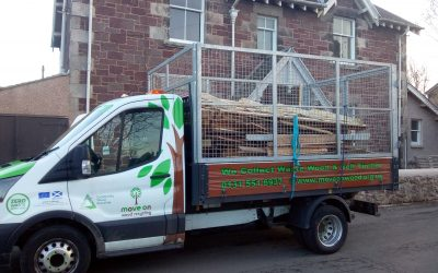 Waste wood collection sale