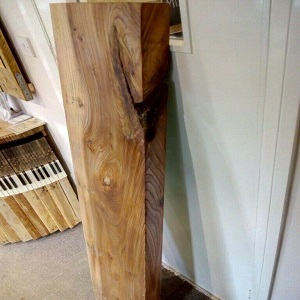 Solid elm timber