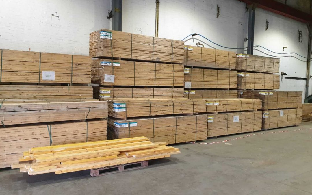 Scottish spruce – 50% cheaper than B&Q