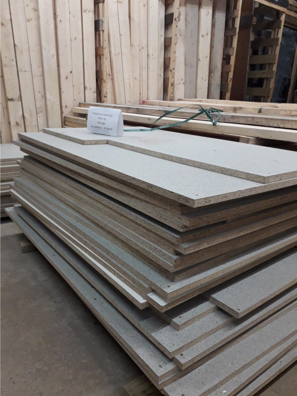 Chipboard sheets