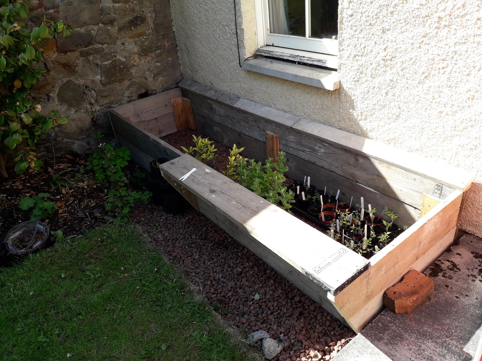 Custom raised beds