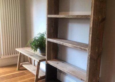Scaffold bookcase