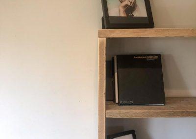 Scaffold bookcase made to order Edinburgh