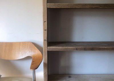 Scaffold bookcase made to order Edinburgh Granton