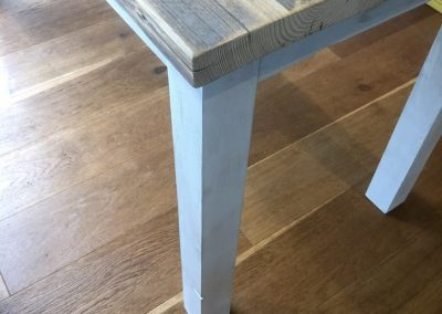 Scaffold table made to ordr