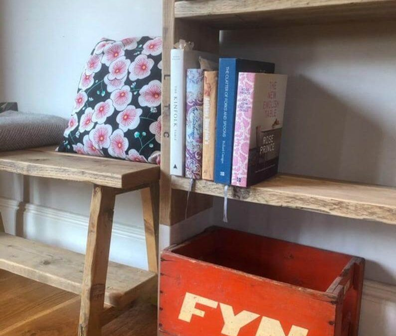 Upcycled furniture range